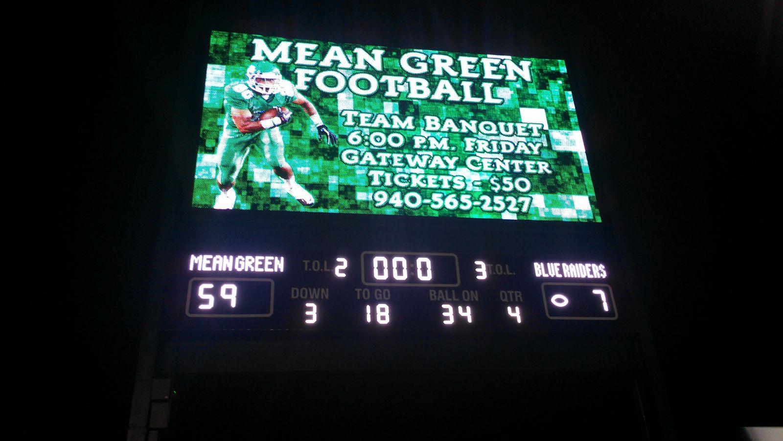 Scoreboard!