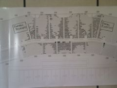 Alumni Side Seating Chart as of June 28 2011
