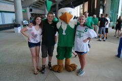 UNT Kickoff Cookout 2011 w/Scrappy