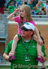 Mean Green Girl And Dad