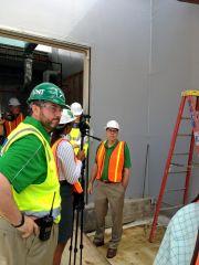 New UNT Student Union Construction