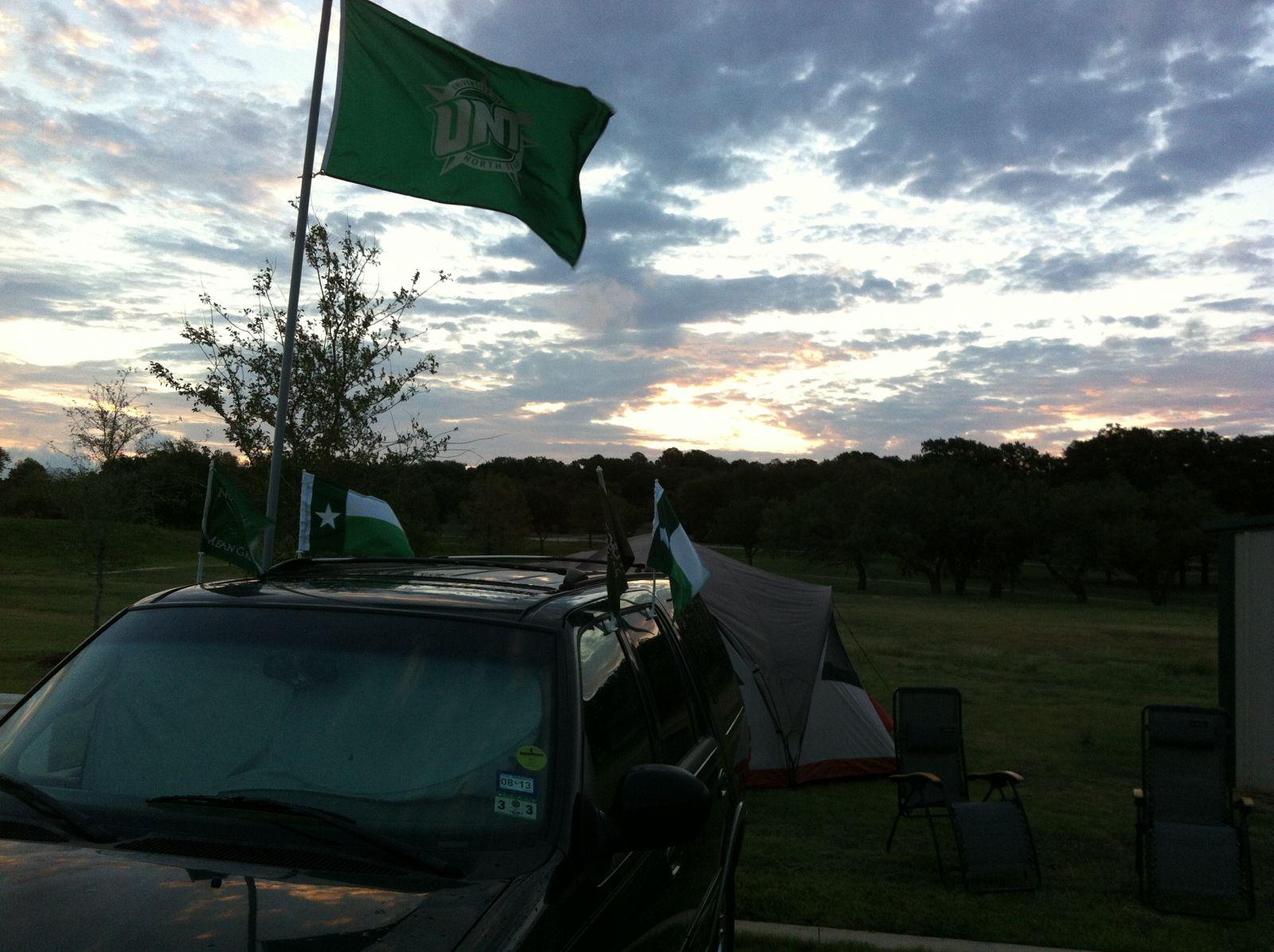 Tailgating at Dawn
