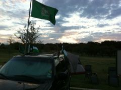 Tailgating at Dawn