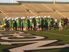 First McCarney Practice at Fouts 3-23-11