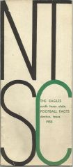 1958 North Texas State Football Media Guide