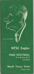 1960 North Texas State Football Media Guide