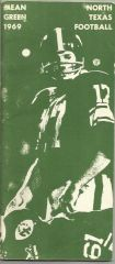 1969 North Texas Football Media Guide