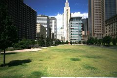 Open Area of Main Street Garden Park