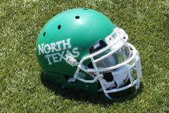 New UNT Football Helmet - 2011 North Texas Helmet
