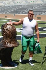 UNT DL Richard Abbe And Statue