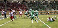 UNT's Dunbar against Houston in Apogee Stadium Opener 2011