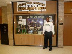 Tony Mitchell's High School Coach Nick Smith at Pinkston High