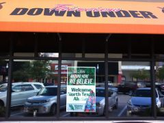 Fairview Down Under showing support outside