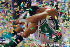 UNT's Tony Mitchell after tourney loss