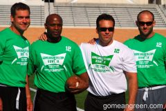 Former players Heath Moody, Tubby Coleman, Hut Allred, Keith Ramsey