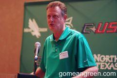 UNT Coach Mike Peterson 2