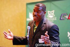 Tony Benford speaks in Dallas