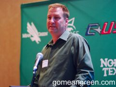 UNT Soccer Coach John Hedlund 1
