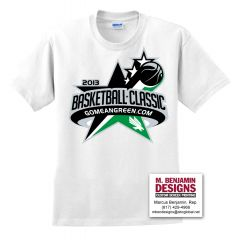 UNT Basketball Classic 2013 White T-Shirt