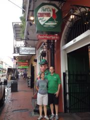 Mean Green Fans hit New Orleans