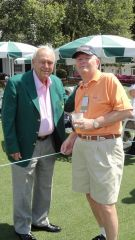 Arnie and KRAM @The Masters