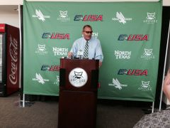 Coach Mac 2014 UNT Media Day