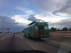 Mean Green Tailgating Machine Heading To Austin