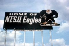 NTSU Eagles Billboard