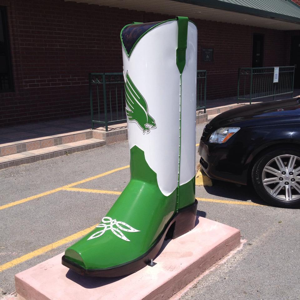 UNT Giant Boot