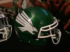 New 2015 UNT Football Helmet