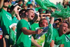 UNT Student Section