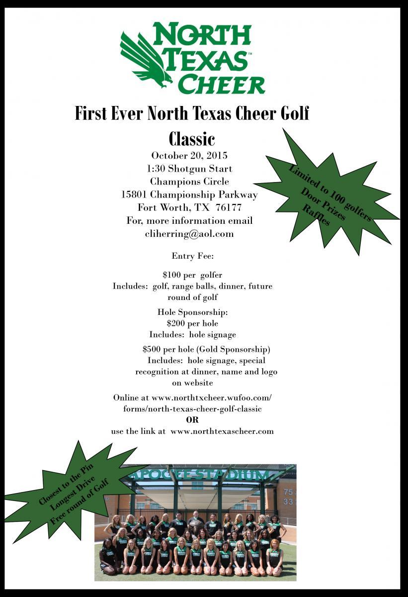 North Texas Cheer Golf Classic