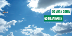 Go Mean Green Air Banner Mock Up
