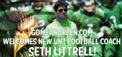 GoMeanGreen.com Welcomes Seth Littrell!