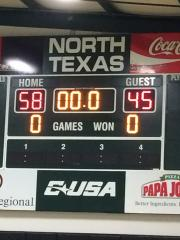 2016 UNT Basketball Classic Final Score White Team Wins