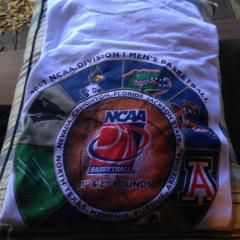 2007 UNT NCAA Tourney shirt