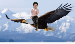Littrell Riding Eagle