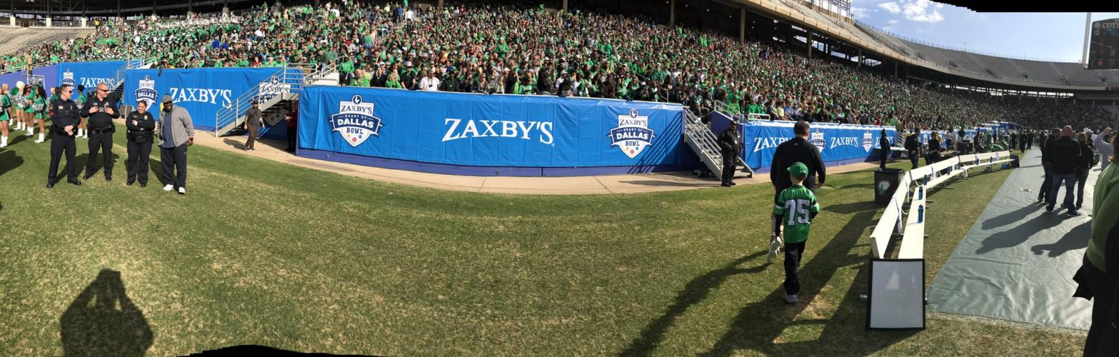 2016 Heart of Dallas Bowl in Pictures