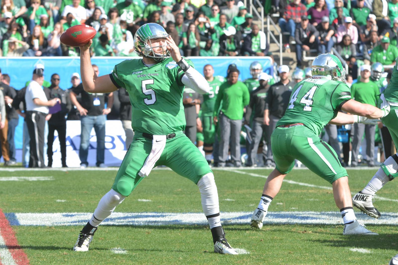 North Texas vs Army, Heart of Dallas Bowl