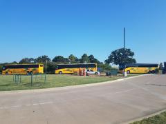 Lamar Busses Arrive at Apogee
