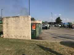 Actual Real UNT Dumpster Fire
