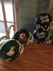 UNT Various Helmets