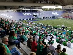 Mean Green at Rice Stadium 1