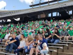 Mean Green at Rice Stadium 2